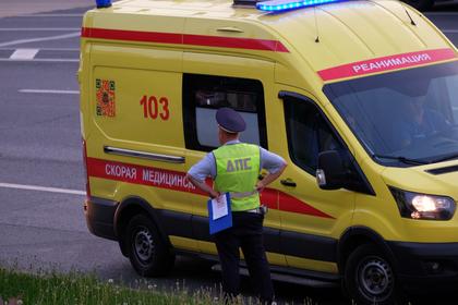 Под Ярославлем автобус с людьми столкнулся с грузовиком