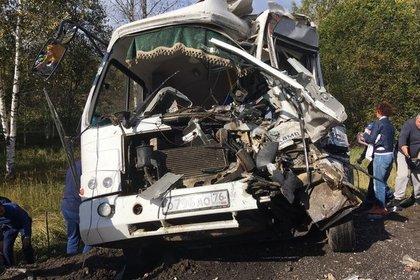 Число пострадавших в аварии с грузовиком под Ярославлем возросло до 28 человек