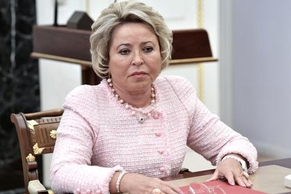 Матвиенко выдвинут в сенаторы