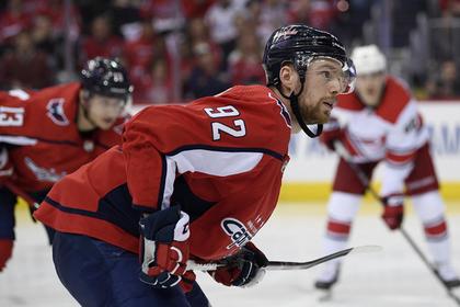 Пойманный на кокаине Кузнецов отреагировал на наказание НХЛ