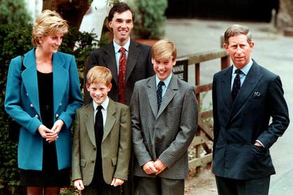 Маленькая грудь матери «испортила жизнь» 14-летнему принцу Уильяму