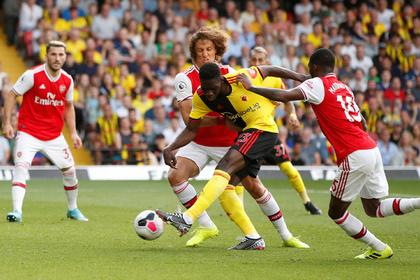 «Арсенал» упустил преимущество в два мяча в матче с худшей командой АПЛ