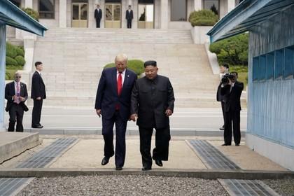 Ким Чен Ын позвал Трампа в Северную Корею