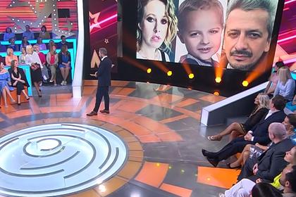На телевидении показали детей Собчак и Богомолова