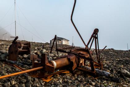 В Арктике собрали более 500 тонн металлолома