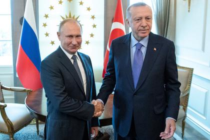 Путин и Эрдоган совместно помолчали