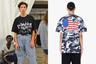 """В своих продуктах Гвасалия любил совмещать, казалось бы, несовместимое. Одной из самых популярных вещей Vetements стала футболка, в дизайне которой поклонники находили политическую провокацию. Спереди на черном фоне традиционным кириллическим шрифтом напечатано слово «Россия», окрашенное в цвета триколора. А на спине, на сером камуфляже, America («Америка») — в красно-белых полосках и звездах. Россияне в соцсетях негодовали: «Кто бы знал, что китайское дерьмо с огромной надписью """"Россия"""" будет в будущем дизайнерским решением одного из известнейших брендов!»"""