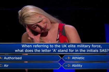 Ведущий «Кто хочет стать миллионером?» подшутил над озадаченной участницей