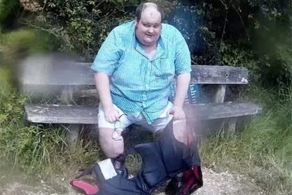 Мужчина испугался остаться без ноги и сбросил центнер