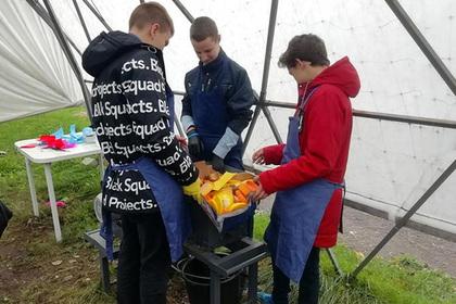 В российской школе появился свой мусороперерабатывающий завод