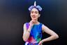 Ана де Хесус появилась на Стренде, одной из самых фешенебельных улиц Лондона, в образе гламурного единорога, с цветами в прическе и с макияжем под Фриду Кало.