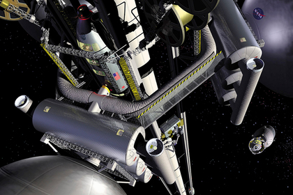 Создание космического лифта признали возможным