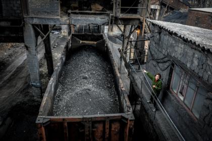 Ветераны АТО задержали российский уголь на Украине
