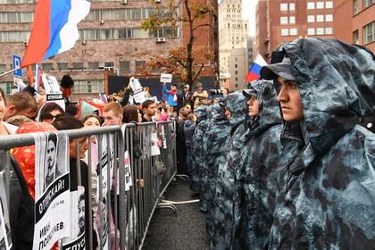 Священнослужители РПЦ поддержали осужденных за участие в митингах