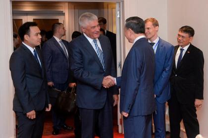 Глава МВД России встретился с коллегой из Вьетнама