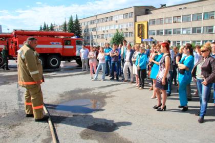 Российский завод похвастался повышением пожарной безопасности и загорелся
