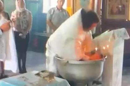 Травмировавший российского ребенка обряд крещения признали нарушением