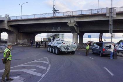 Угрожавшего взорвать метромост в Киеве задержали