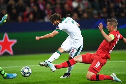 «Локомотив» стартовал с победы в Лиге чемпионов