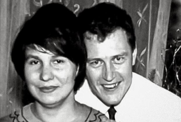 Анатолий Сливко с женой Людмилой