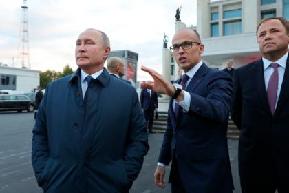 Путин оценил центральную площадь Ижевска после реконструкции