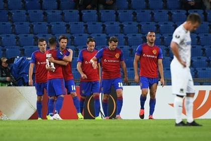 «Краснодар» пропустил пять безответных мячей в стартовой игре Лиги Европы