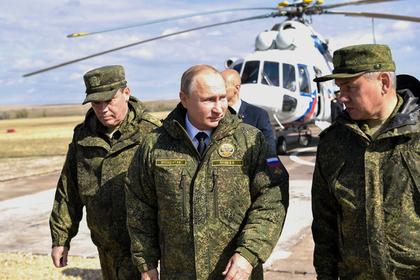 Путин оценил учения с военнослужащими из восьми стран