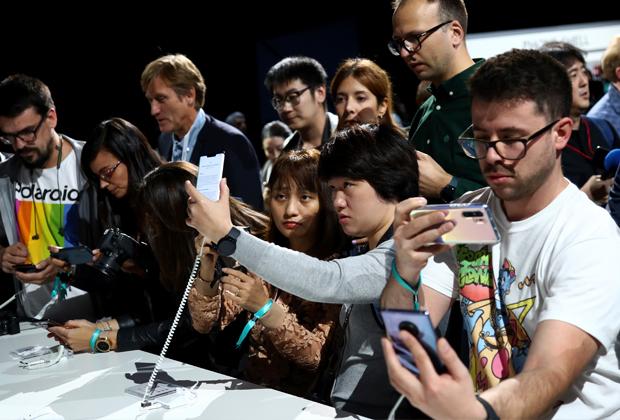 Презентация смартфона Huawei