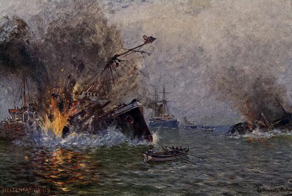 Гибель броненосного крейсера «Хог»