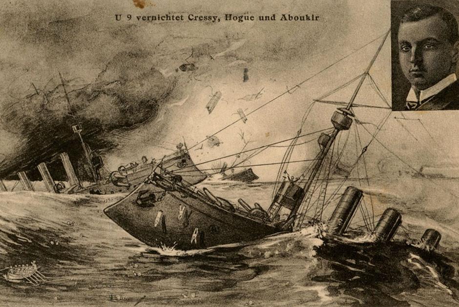 В этом бою Британия потеряла 1459 моряков, что почти в три раза больше, чем в Трафальгарском сражении