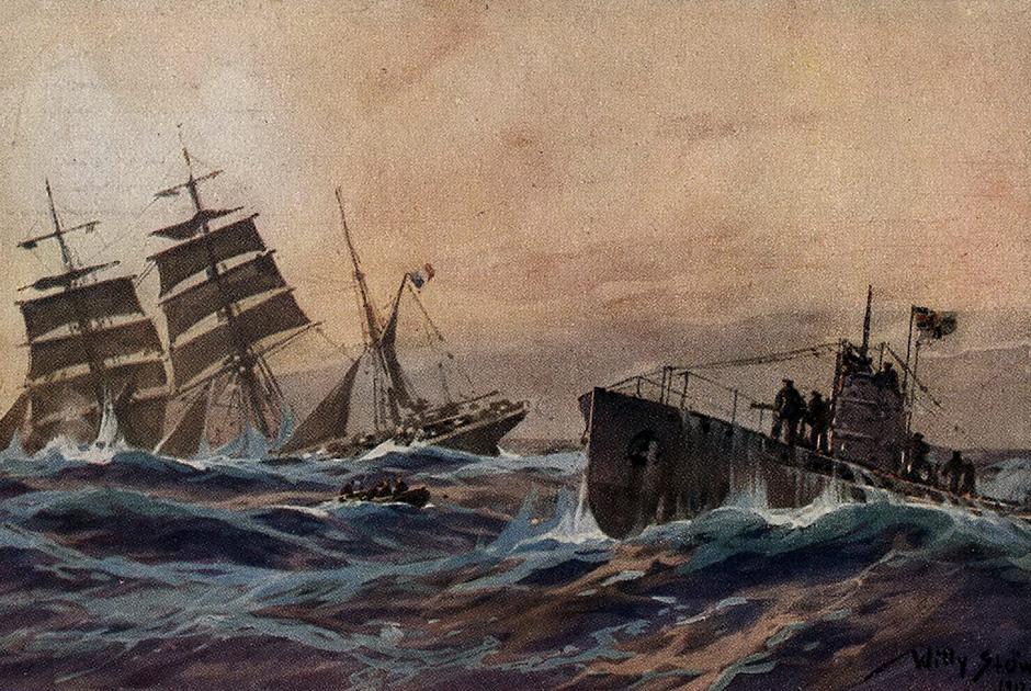 Очередная жертва неограниченной подводной войны