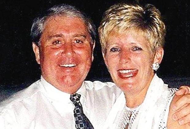 Брайан Томас с женой
