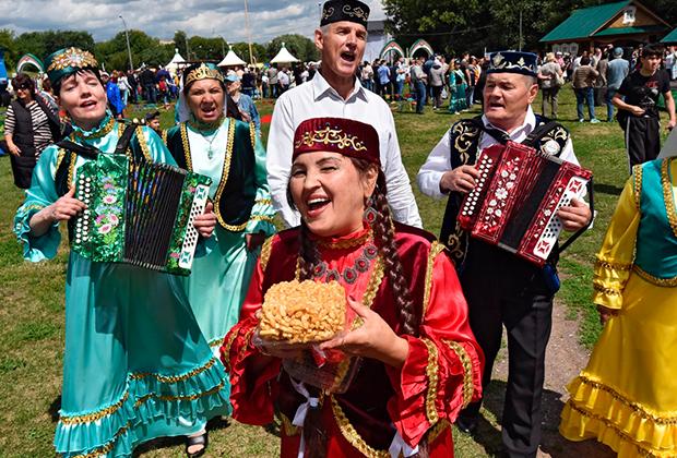 Фестиваль «Сабантуй» в Москве