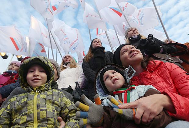 День народного единства на площади Тысячелетия в Казани