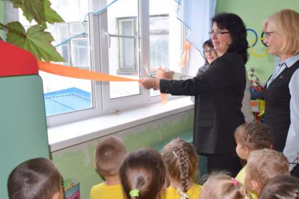 В российском детском саду торжественно открыли окна