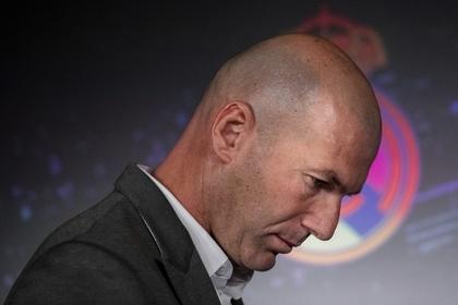 Зидан разозлил руководство «Реала»