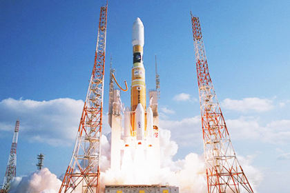 Пуск ракеты H-2B