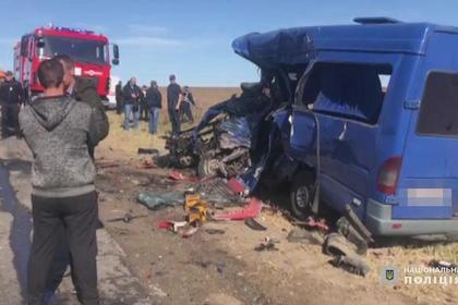 Под Одессой в ДТП погибли девять человек