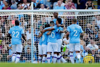 «Манчестер Сити» забил пять мячей за 18 минут и вернулся на второе место в АПЛ