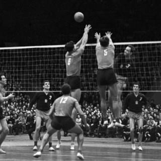 Матч между сборными командами СССР и Чехословакии в 1962 году