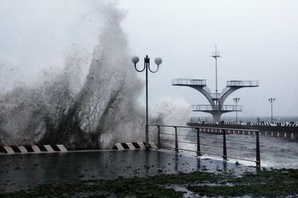Жителей Приморья предупредили о надвигающемся тайфуне