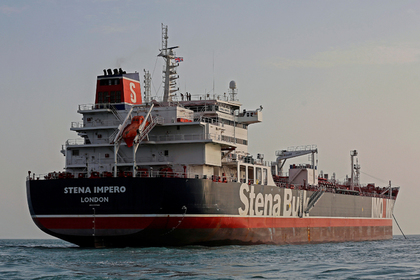 Иран отпустил захваченный британский танкер