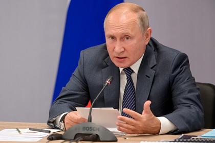 Путин назвал главный вызов для всего человечества
