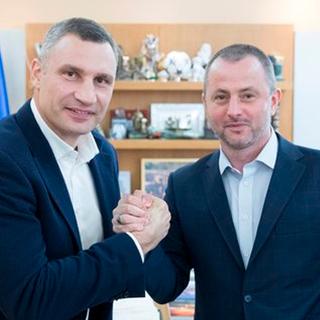 Виталий Кличко и Максим Бахматов