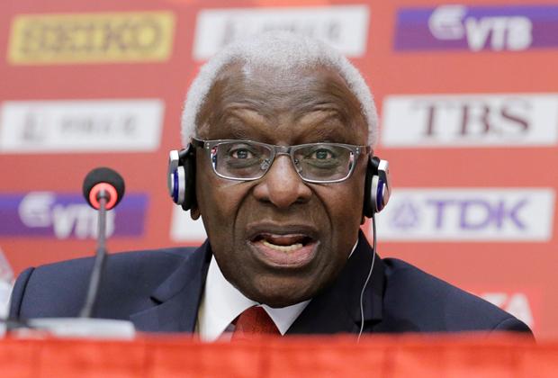 Бывший глава IAAF Ламин Диак
