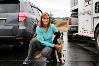 Женщина уволилась с работы ради поисков сбежавшей собаки и преуспела