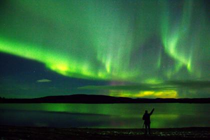 В Арктике началась «охота» за северным сиянием