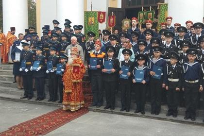 Спецназ и казаки провели «православные» учения