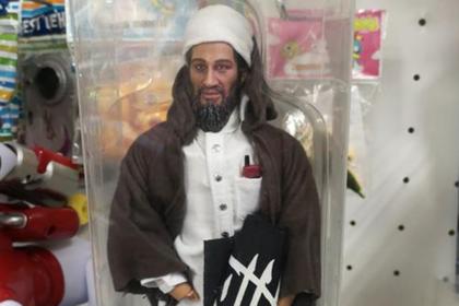 В российском магазине нашли игрушку в виде бен Ладена