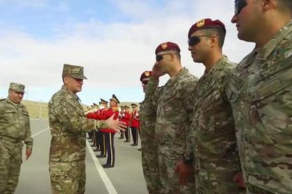 Грузия и Азербайджан начали совместные учения с Турцией